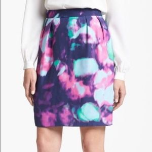 2 Kate Spade Barry Watercolor Skirt